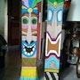 Tiki La fête sur thème La Polynésie. Colette Trôme