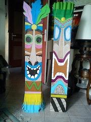 Tiki La fête sur thème La Polynésie.