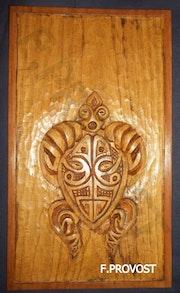 Tortue Stylisée Polynésienne. Faby