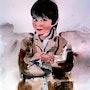 Portrait d'enfant ou d'Ange. Laurent Colsenet