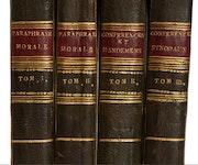 4 Bände aus der Bibliothek Friedrich August dem Gerechten, König von Sachsen!. Thomas Kern
