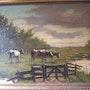 Cows in a dutch meadow.. Bert Veenema