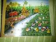 Paysage Haitien. Bekens Metellus