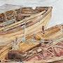 Les Barques. Sylvie-Gourmelon