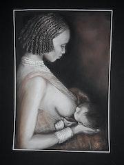 L'amour maternel.