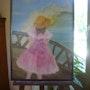 Petite fille sur le pont…. Patricia Juteau