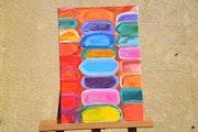 Pigments de teinture. Florence Creteau