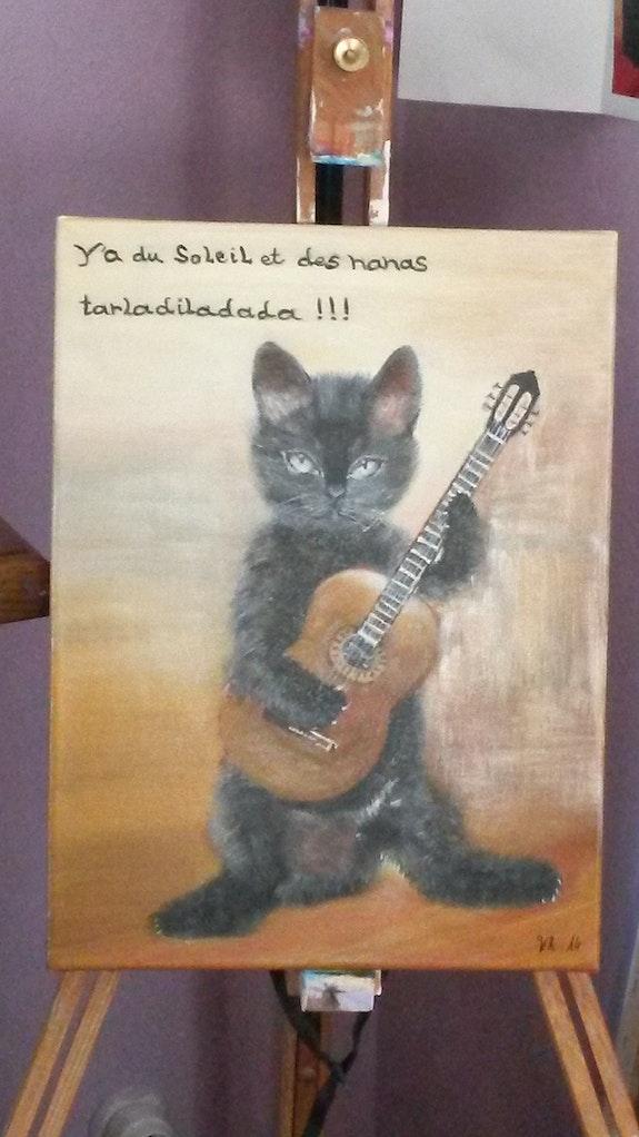 Petit chaton tout mignon.  Christine Venniro