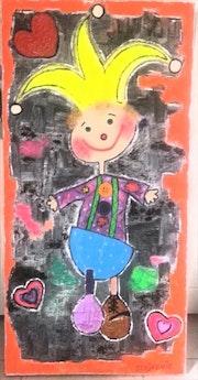 Petit clown. Radmila Sally Stojkovic Burton