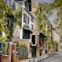 Rue des Saules - Montmartre. Houmeau