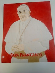 Pope francisco. Loretana
