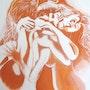 Paul et Paule plus l'ombre de la jalousie, n° 286 05/2014. Jean Claude Ciutad-Savary. Artiste Peintre