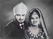 'Way Back When' (Mum & Dad i). Amas Bansal