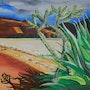 Cactus au Pérou. Anne Delpierre