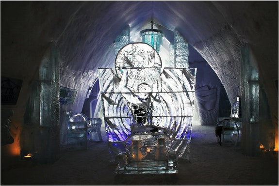 Hotel de glace à Québec…. Spirit Spirit