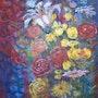 En Fleurs. Jacques Dortel