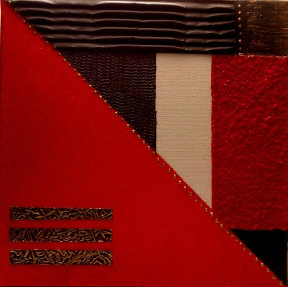 Rouge-Métal. Heredia Artiste Peintre / Cya