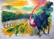 Où le vin coule du ciel! !. Véronique M. Bonnand Vmb