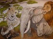 B 5 Die Grossen 5 Tiere Afrikas. Asti