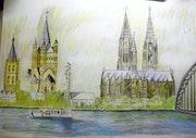 Kölner Skyline.