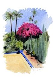 Les Jardins de Majorelle - Marrakech.