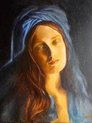 Le Turban bleu.