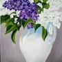 Bouquet de Lilas du Jardin d'ISA. Colette Trôme