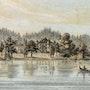 Starnberger See: Stammbuch von Possenhofen, Garatshausen, Insel Wörth, 1854. Thomas Kern