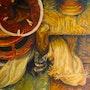 Chaton dans le souk. Marie-Helene Alvin