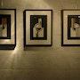Collages 571, 572 et 573 formant triptyque. Philippe Garnier De La Baudinière