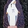 Apparition de la vierge a lourdes. Maryline Van Poucke