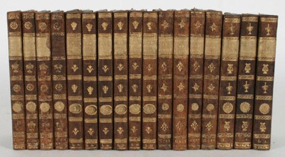 Pigault-Lebrun, Theatre, 17 Bände aus der Bibliothek der Grafen von Schönborn.. Pigault-Lebrun Thomas Kern