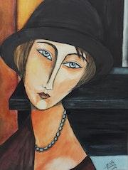 Portrait de Jeanne Hébuterne (Modigliani). Mimi