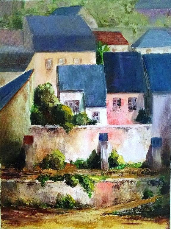 Village de bords de Loire - Zoom #1. Jean-Pierre Jean-Pierre Dubreuil