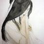 Keiko, femme asiatique,. Yokozaza