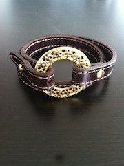 Bracelet Cuir 2 tours. Dorothée Babou