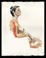 Tonya Seated. Draftsman