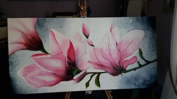Panache de fleurs.  Christine Venniro