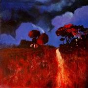 The Glow of the Night, Provence. John O'grady