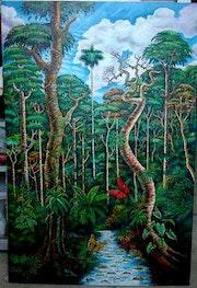 Selva ecuatoriana. Peñita