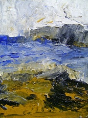 The wild coast seascape/la mer la cote sauvage.