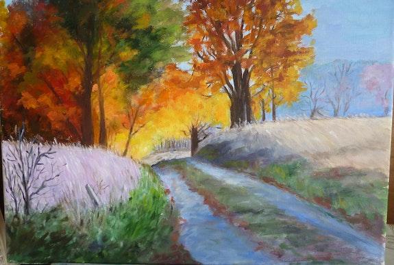 Lisière d'un bois pour une promenade dominicale de fin été/début automne. Salsera Salsera