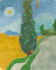 Cypress Trees. Michael Amato