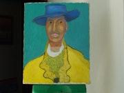 Man in Yellow Jacket.. Michael Amato