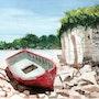 Barque au repos. Patrice Manuel