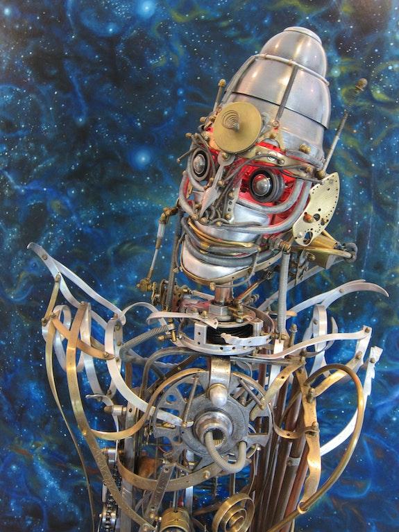 Automate n° 7 «Lud Aster». Lawrence Nurtel Frédéric Letrun