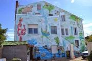 Meschers peinture murale. Tayeb