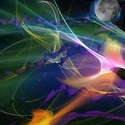 Parcours très abstrait et surprenant pour atteindre la lune. Le Sage Coyote