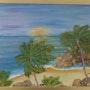 Las palmeras y el mar. Bascoy