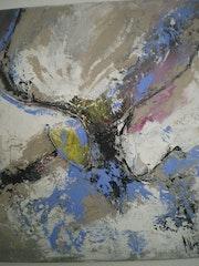 Galerie gris bleu.
